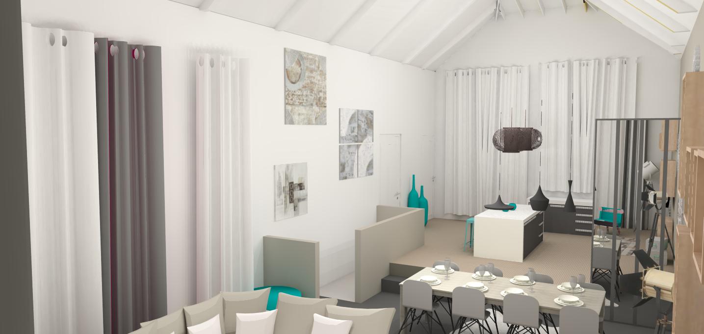 Espaces de vie e interiorconcept for Architecte d interieur caen
