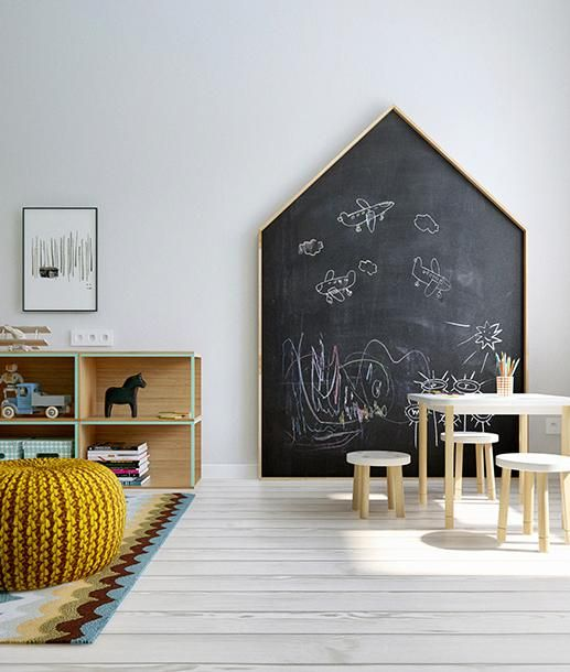 le mur ardoise une ambiance r ussie e interiorconcept. Black Bedroom Furniture Sets. Home Design Ideas