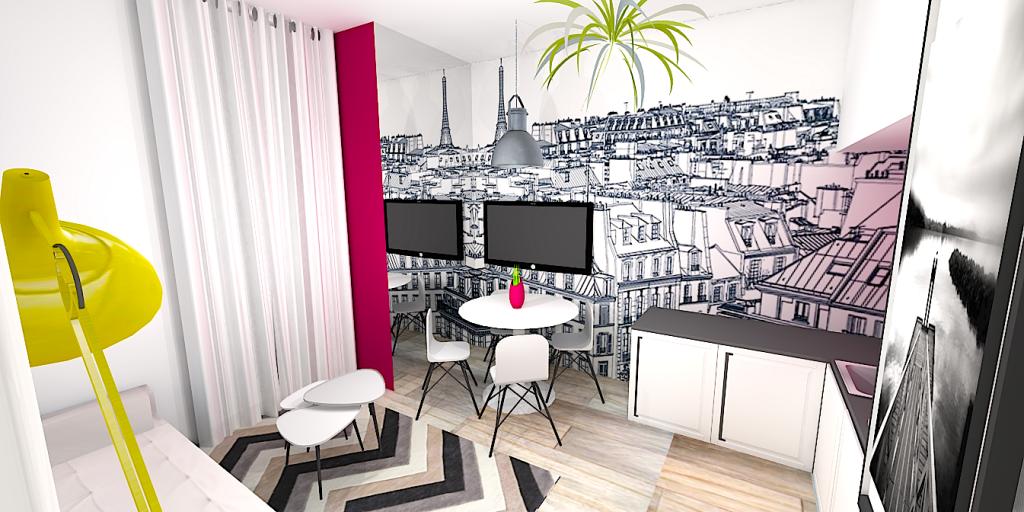 avant apr s d corer un studio pour mieux le louer e. Black Bedroom Furniture Sets. Home Design Ideas