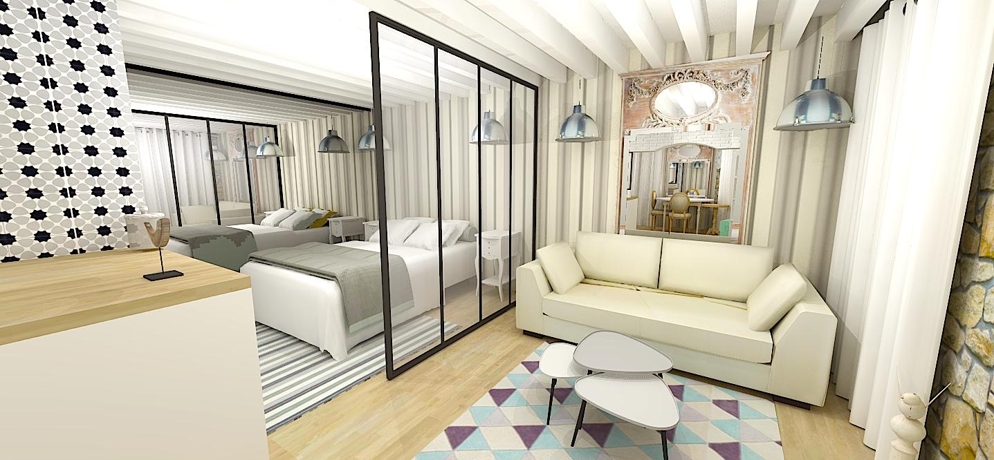 maison d architecte interieur salon ventana blog. Black Bedroom Furniture Sets. Home Design Ideas