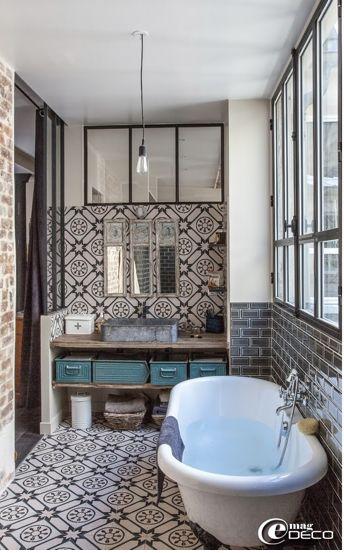 Salle de bain wc archives e interiorconcept for Salle bain carreau de ciment