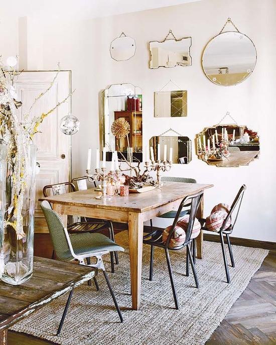 Tendance d co les miroirs e interiorconcept for Petit miroir deco