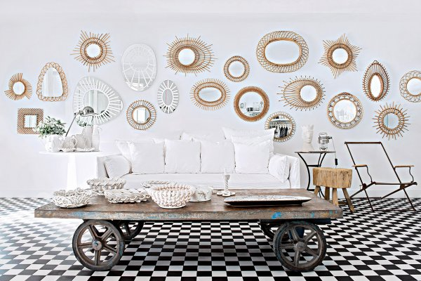 Tendance d co archives e interiorconcept for Miroir decoratif pour salon