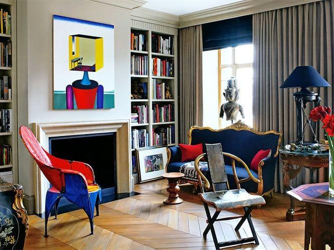 arty chambre décorateur