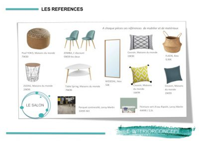 references decorations architecte d'interieur