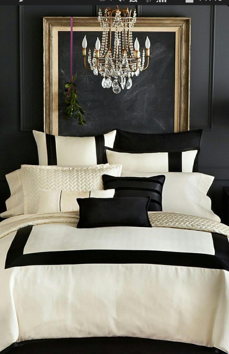 La décoration noir blanc or, un choix gagnant pour votre logement