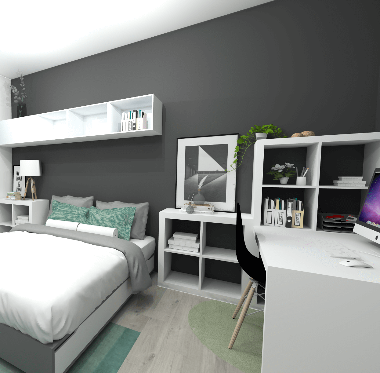 Décoration et aménagement de chambres   e-interiorconcept